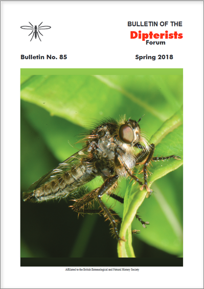 Dipterists Forum Bulletin cover